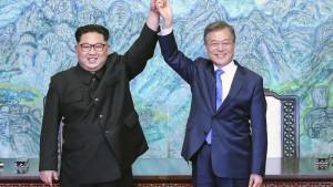 In Nordkorea und Südkorea ticken die Uhren wieder gleich