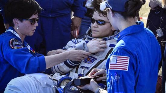 ISS-Raumfahrer zurück auf der Erde