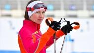 Hungrig: Biathlonstar Darja Domratschewa gibt in Oberhof ihr Comeback