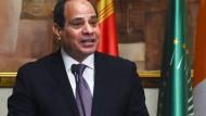 Bekommt mehr Macht: Ägyptens Präsident Sisi