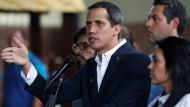 Venezuelas Oppositionschef Juan Guaidó