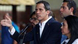 EU und Amerika fordern Freilassung von Guaidós Stabschef