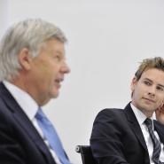 Jens Ehrhardt (links) und sein Sohn Jan leiten die Vermögensverwaltung DJE.
