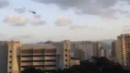 Hubschrauber greift oberstes Gericht an