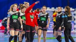 EM-Dämpfer für deutsche Handballerinnen