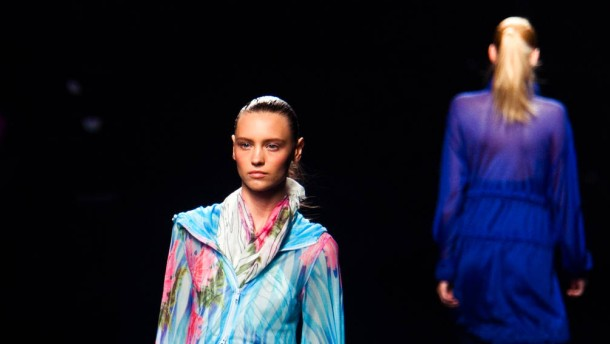 """New Yorker Modewoche  - Auf der """"Mercedes-Benz Fashion Week"""" präsentieren internationale Modemacher ihre Entwürfe für Frühjahr und Sommer 2013"""