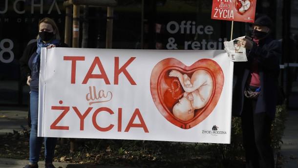 Polen verschärft Abtreibungsrecht