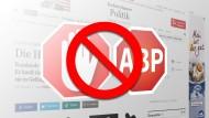 So deaktivieren Sie Ihren Adblocker für faz.net