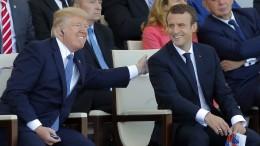 Trumps Militärparade rollt im November durch Washington