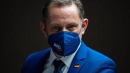 AfD-Vorsitzender Chrupalla droht mit Corona-Wahlkampf