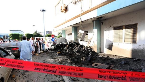 Tote bei Anschlägen in Tripolis