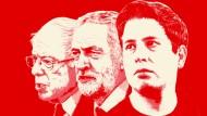 Die soziale Frage ist zurück:: Bernie Sanders, Jeremy Corbyn und Kevin Kühnert sind die neuen Stars der Linken.