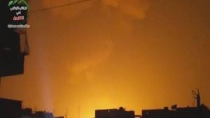 Israel greift Ziele bei Damaskus an
