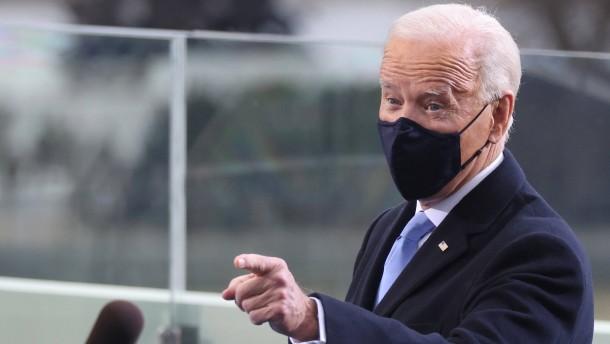 Präsident Biden genießt einen Vertrauensvorschuss