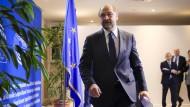 Auf nach Berlin: Martin Schulz am Donnerstag in Brüssel