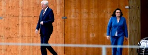Innenminister Horst Seehofer und SPD-Chefin Andrea Nahles driften immer weiter auseinander.