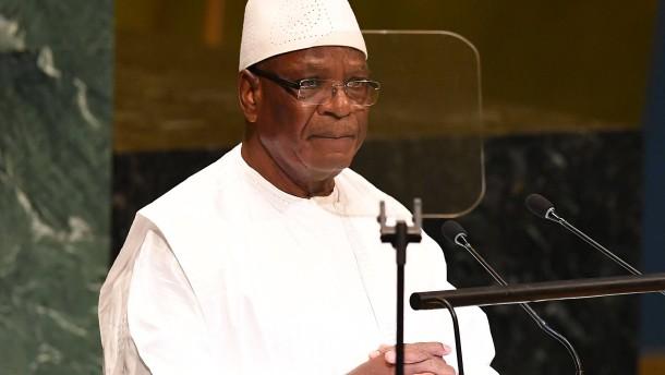 Malis Präsident Keita tritt nach Meuterei zurück
