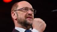 Kraftvoll: SPD-Kanzlerkandidat und Parteivorsitzender Martin Schulz