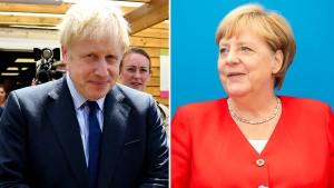 """Merkel hält an """"Backstop"""" fest"""