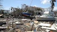 """Irma"" hinterlässt Trümmer auf den Florida Keys"