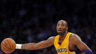 Basketball-Legende Kobe Bryant hört auf