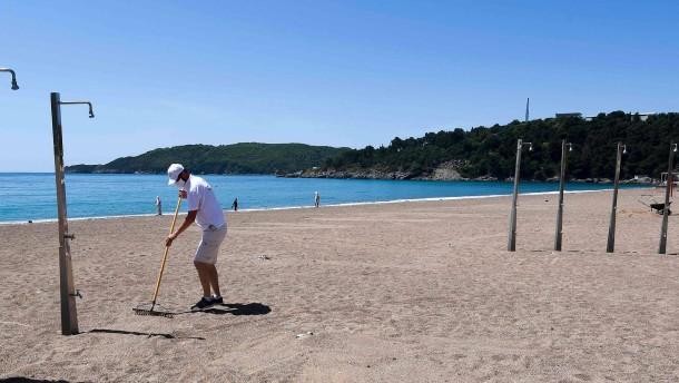 Montenegro verspricht Corona-freien Urlaub