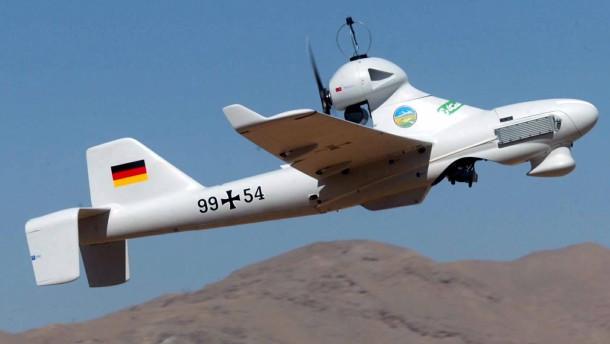 Jede siebte Bundeswehr-Drohne stürzt ab