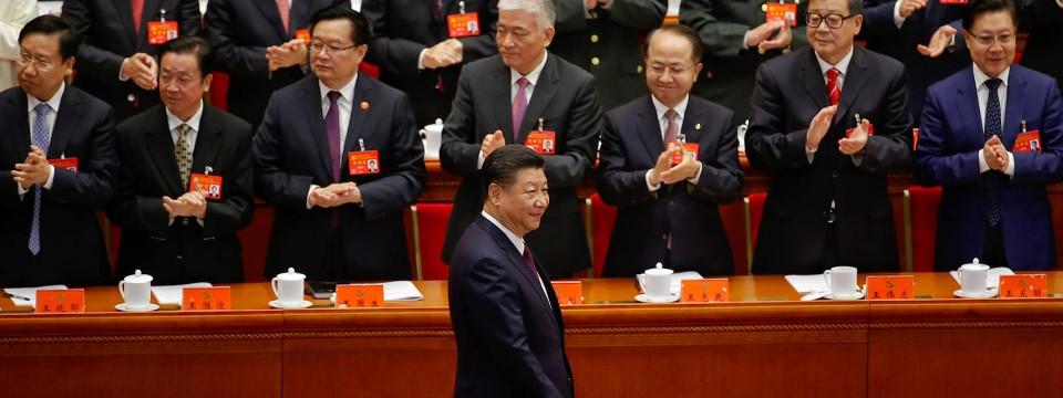Ganz vorn: Chinas KP-Chef Xi Jinping