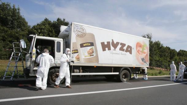 Der Todes-Laster kam aus Ungarn