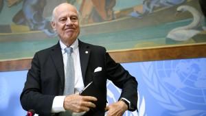 UN-Syriengesandter will Extremisten persönlich aus Aleppo führen