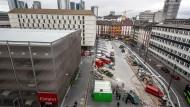 Zwischenlösung: Ob der Fernbus-Terminal allerdings künftig attraktiver sein wird, ist derzeit höchst ungewiss.
