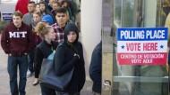 Wahl in Amerika ist in vollem Gang