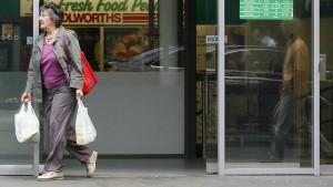 Supermarktkunden meutern wegen Plastiktüten-Regulierung