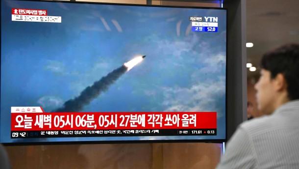 Hat Nordkorea erneut Raketen getestet?