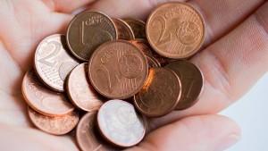 Die ersten Wochen ohne Cent-Münzen