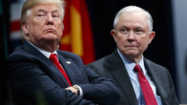 Trump entlässt Justizminister Jeff Sessions