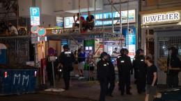 Festnahmen bei Protesten in Berlin
