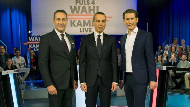 Kurz gewinnt Österreichs TV-Duell