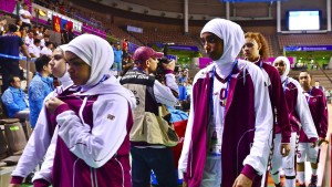Qatars Basketball-Frauen verlieren kampflos