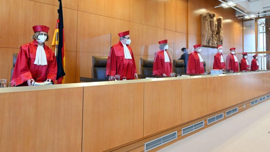 Angepasst? Wie entscheiden die Richter des Bundesverfassungsgerichtes in Sachen Beitragserhöhung.