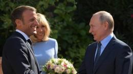Macron schlägt Putin baldigen Ukraine-Gipfel vor