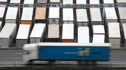 Freie Fahrt für LKWs aus EU