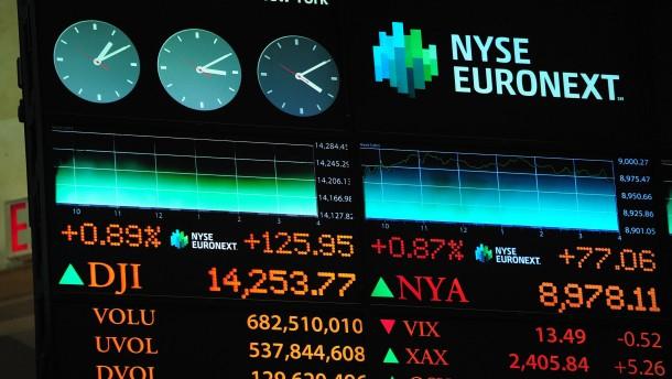 Höhenflug der Wall Street setzt sich fort