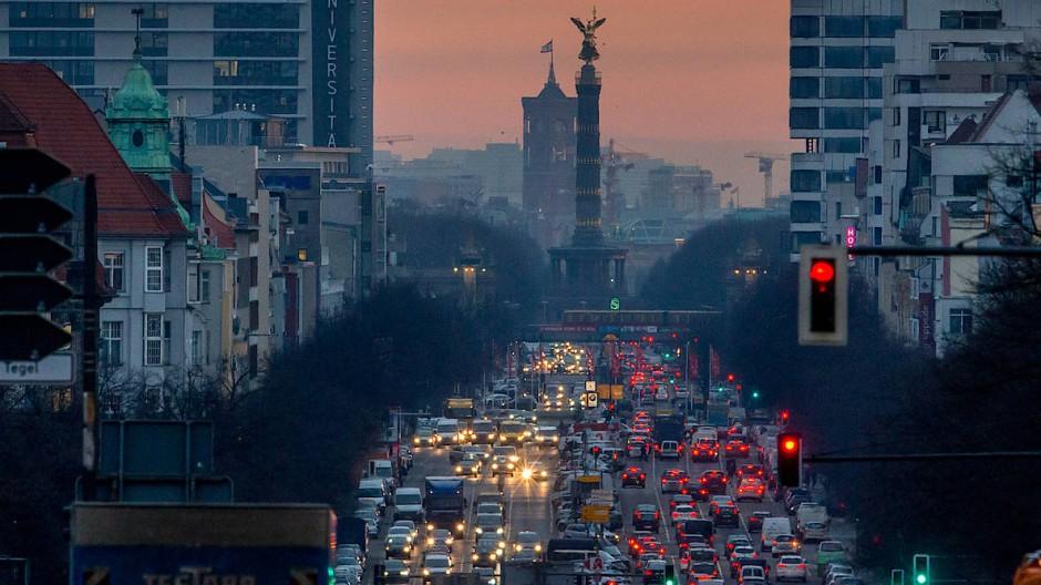 """Berlin hat bereits eine """"Klimanotlage"""" in der Hauptstadt festgestellt."""