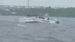 Dramatische Bootsrettung vor der Küste Floridas