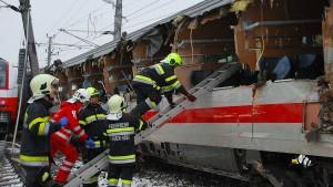 Zugunglück in Österreich