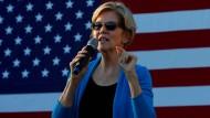 Knöpft sich Facebook vor: die demokratische Präsidentschaftsbewerberin Elizabeth Warren