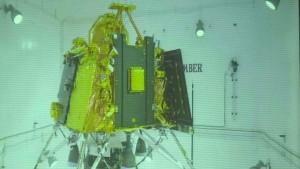 Erste Mondlandemission 56 Minuten vor Start abgebrochen
