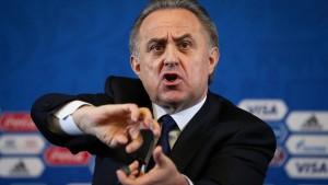 Mutko setzt bis zur WM als Russlands Fußball-Chef aus