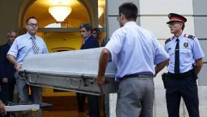 Salvador Dalís Leichnam ist exhumiert worden